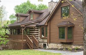 Staining, A, Wood, Home, Exterior