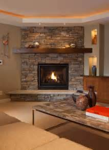 stone corner fireplace family room rustic with ceiling fan coffered ceilings beeyoutifullife com