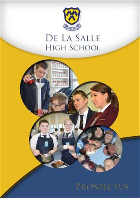issuu de la salle high school prospectus by flixx graphics