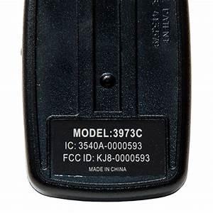 Wayne Dalton 327310 3 Button 372 5 Mhz Remote