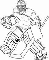 Coloring Hockey Pages Ice Goalie Mask Blackhawks Chicago Own Getdrawings sketch template