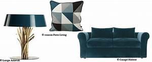 comment utiliser le bleu canard dans sa deco 16 11 With exceptional quelle couleur associer avec du gris 11 quels coussins pour un canape bleu