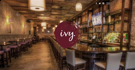 bar website designs