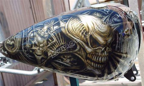 Custom Motorcycle Paint Jobs Paint And Airbrush Art