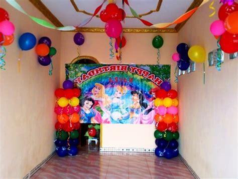 Contoh Dekorasi Rumah Minimalis Untuk Acara Ulang Tahun