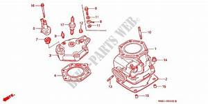 Cylinder Head For Honda Crm 250 1991   Honda Motorcycles  U0026 Atvs Genuine Spare Parts Catalog