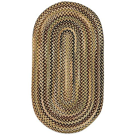 oval braided rugs capel rugs bangor braided oval rug bed bath beyond