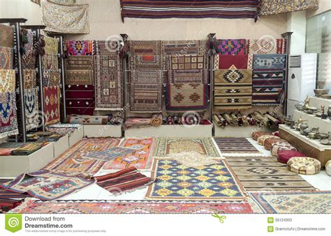 carpet shop stock image image  carpet handicraft