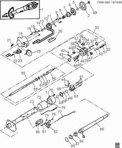 1974 Bronco Steering Column Schematic