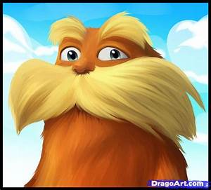 How to Draw the Lorax, The Lorax, Lorax, Step by Step ...