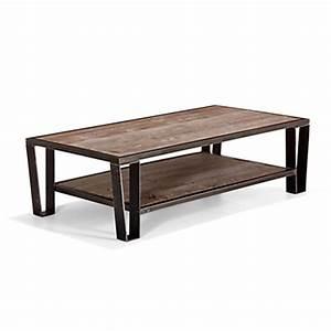 Table Basse Pin : table basse bouts de canap tables basses salon alin a ~ Teatrodelosmanantiales.com Idées de Décoration