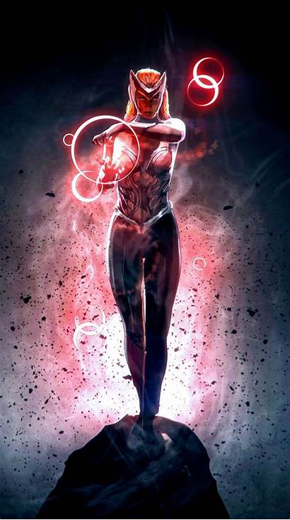 Scarlet Witch Marvel Wallpapers Comic Hdqwalls Character