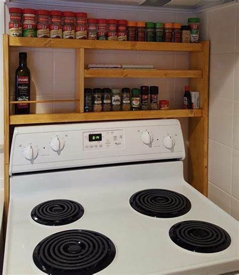 The Range Spice Rack by The Stove Spice Rack Cfb Creations