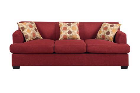 steal a sofa furniture outlet red fabric sofa divani casa tejon modern red fabric sofa
