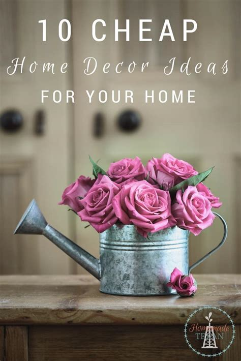 Home Decor For Cheap by Cheap Home Decor Ideas To Spruce Up Your Home