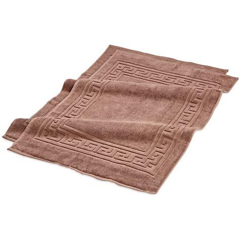 Cotton Doormat - premium staple cotton bath mat set 22x35 900 gram