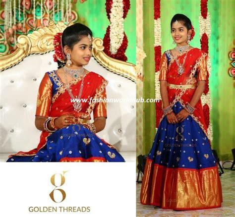 trending royal blue red lehengas fashionworldhub
