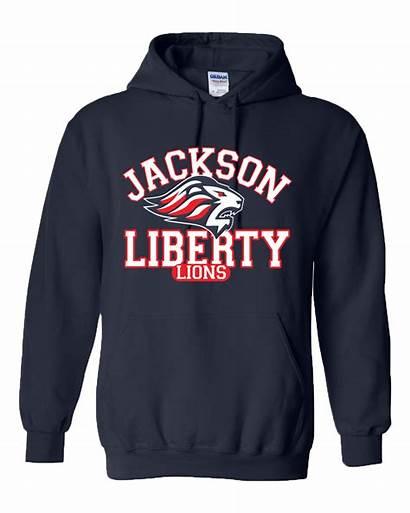 Sweatshirt Hooded Navy Spirit Jlhs Hoodies