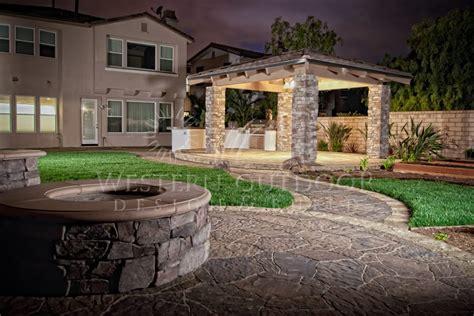 back patios backyard patios hardscape gallery western outdoor design and build serving san diego orange