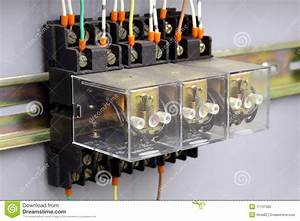 Electrical Relays Stock Photo  Image Of Electricity