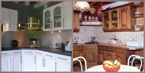 comment repeindre une cuisine en bois moderniser une cuisine en chne cool repeindre meuble de