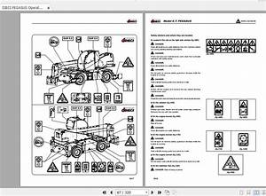 Dieci Pegasus Operation And Maintenance Manual