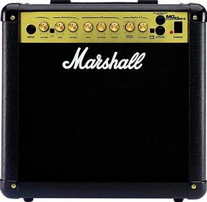 Marshall Mg15dfx Guitar Combo Amplifier  15 Watts  1x8 In