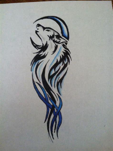 wolf tattoo design  drawing  pencil  deviantart