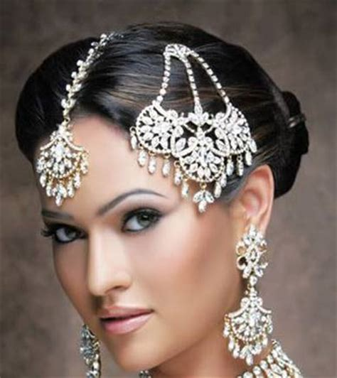 hair ornaments indian bridal hairstyles