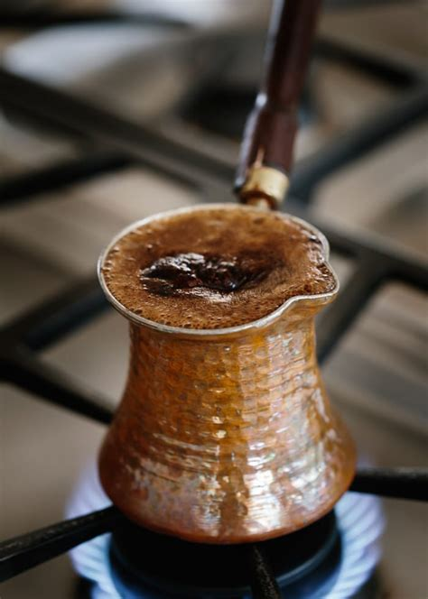 Then, slowly boil the mix. Learn How To Make Turkish Coffee with Step-by-Step Photos
