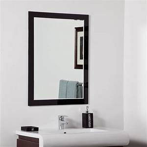 decor wonderland aris modern bathroom mirror beyond stores With bathroom morrors