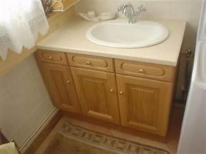 Meuble Plan De Travail : salle de bains ~ Teatrodelosmanantiales.com Idées de Décoration