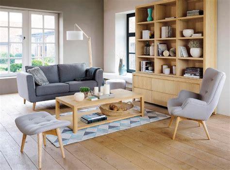 canapé danois inspiración para un salón de estilo escandinavo