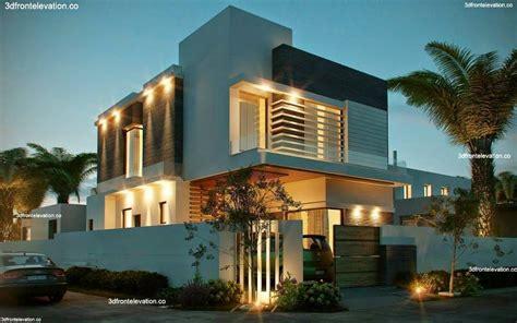 10 Marla Corner House Plan 3d Front Elevation Design
