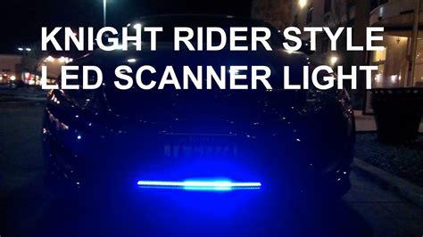 Knight Rider Style Led Scanner Lights Kia Optima