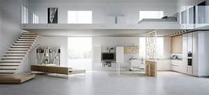 Interieur maison moderne plus de 50 idees pour decouvrir for Entree de maison design 1 maison contemporaine blanche avec un interieur design