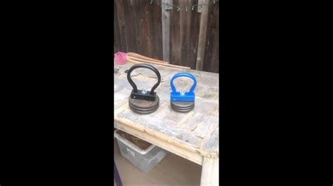 kettlebell diy adjustable