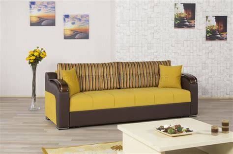 divan deluxe signature sofa bed  mustard fabric  casamode