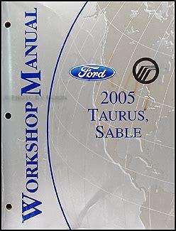 car engine repair manual 2005 mercury sable engine control 2005 ford taurus mercury sable wiring diagrams manual original