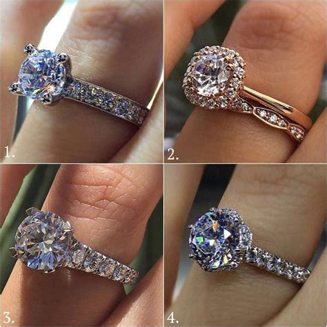 solitaire vs halo engagement ring comparison raymond lee