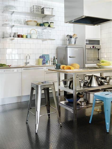 deco etagere cuisine idée décoration cuisine avec rangements ouverts
