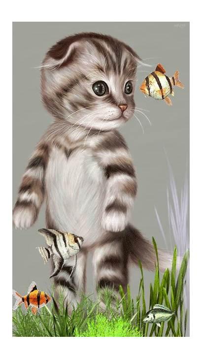 Cat Cats Gifs Gatos Animation Kitten Animal
