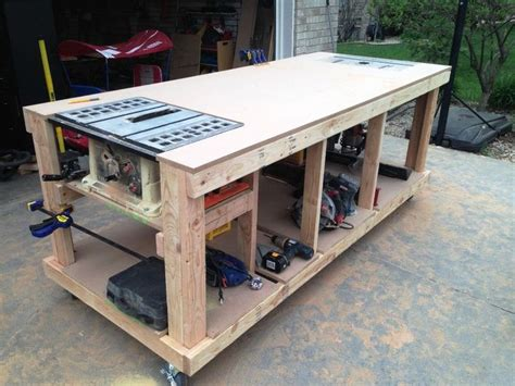 garage workbench plans  woodworking bench plans