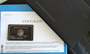 american express the centurion card With business centurion card