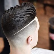 Barber Hairstyle Fade Haircut