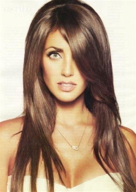 brown hair color  fair skin beauty styles ideas
