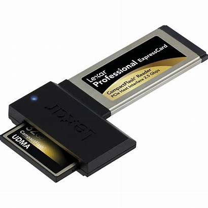 Expresscard Reader Lexar Professional Card Cf Compactflash