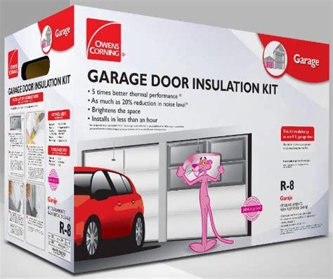 garage insulation kit owens corning 500824 garage door insulation kit includes