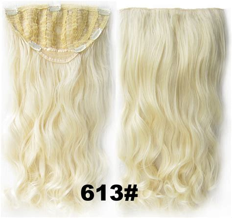 24 Inch Women Curly And Long Delicate One Piece 7 Clips
