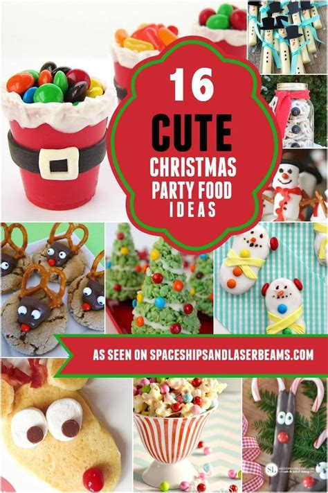 16 food ideas spaceships and 654 | christmas party food ideas for kids